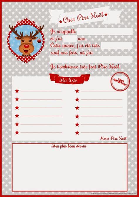 Modèle De Lettre Du Père Noel Printable Lettres Au P 232 Re No 235 L