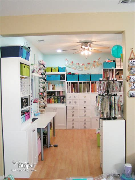 small craft room inspiration for a craft room workshop makeover staci