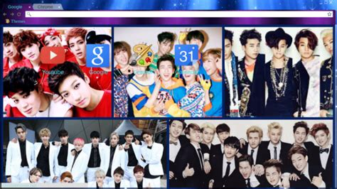 theme google bigbang bts got7 big bang svt exo theme chrome theme themebeta