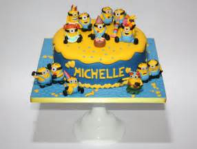 minions kuchen deko minions torte lealu