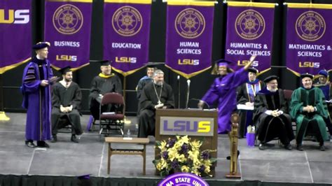 Lsu Mba by Lsus Fall Commencement 2016