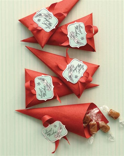 Clip Art And Templates For Christmas Martha Stewart Crafts Martha Stewart Paper Cone Template