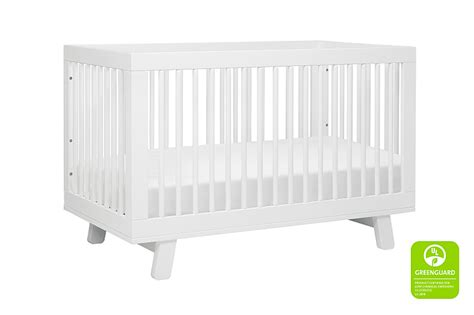 hudson convertible crib serena hudson 3 in 1 convertible crib in white by babyletto
