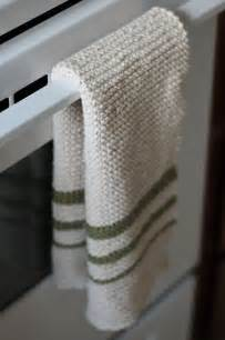 Kitchen Towels To Knit Knit Dish Towel I Really Like This Look Think I