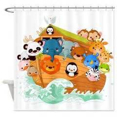 Animal Shower Curtain Whimsical Noah S Ark Shower Curtain Awesome Shower