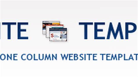 wordpress themes free one column 40 free one column website templates