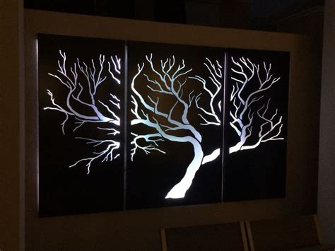 aus 8a steel quality tree with white led lights outdoor laser cut screens