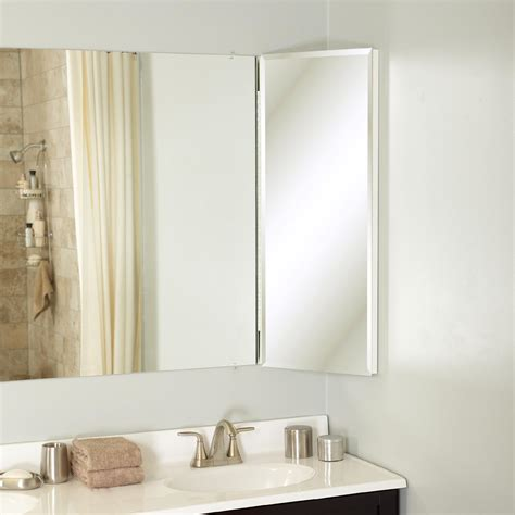 corner bathroom mirror zenith products over the mirror corner cabinet 14 quot x 36