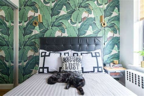 beautiful wallpapered bedrooms