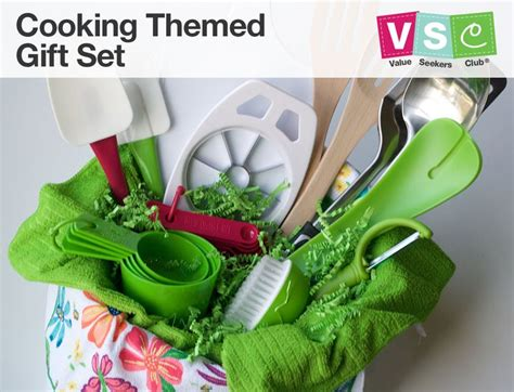 themed gift sets attending a housewarming party this cooking themed gift