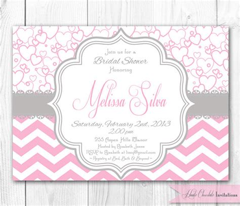 pink and gray baby shower invitations gangcraft net