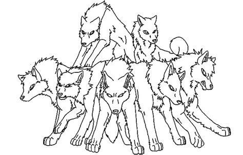 sleeping wolf pack coloring pages coloring pages