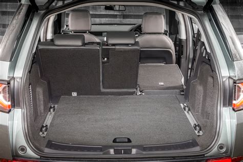 land rover discovery sport trunk space land rover discovery sport with jaguar land rover s own