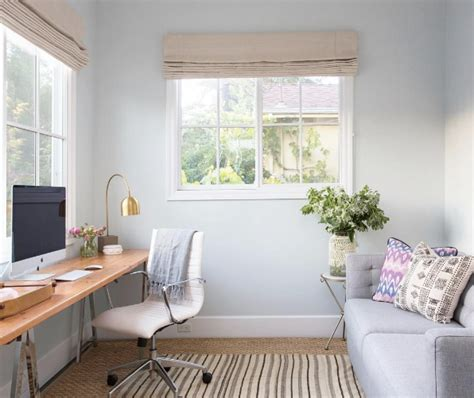 Guest Bedroom Office Ideas Home Office Decorating Ideas We Spotted On Instagram Room Light Blue Walls And Office Guest Rooms