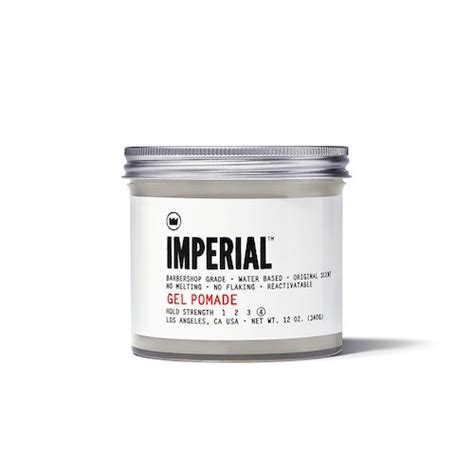 Pomade Imperial imperial gel pomade grooming products to make you feel like a million bucks askmen