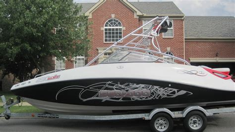 sea doo wake 230 jet boat sea doo 230 wake 2008 for sale for 4 884 boats from usa