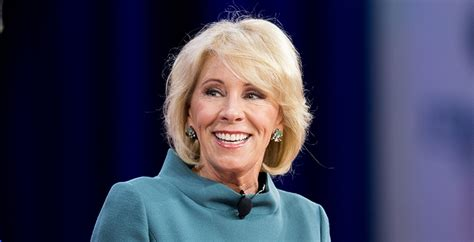 betsy devos interview betsy devos mocked for messy 60 minutes interview