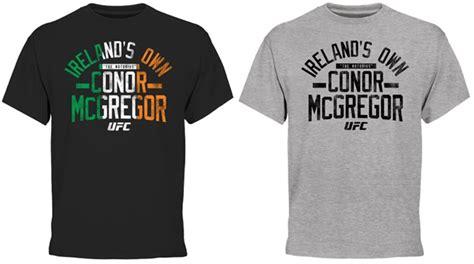 T Shirt Mcgregor Ufc Isc mcgregor shirts gallery