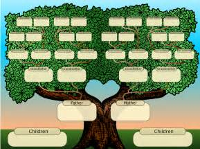 Free Templates For Family Trees family tree template for playbestonlinegames