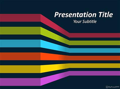Free Lines Waves Powerpoint Templates Themes Ppt 3d Powerpoint Presentation Templates 2