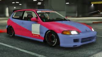 honda civic eg6 kanjo edition tuning template gta5