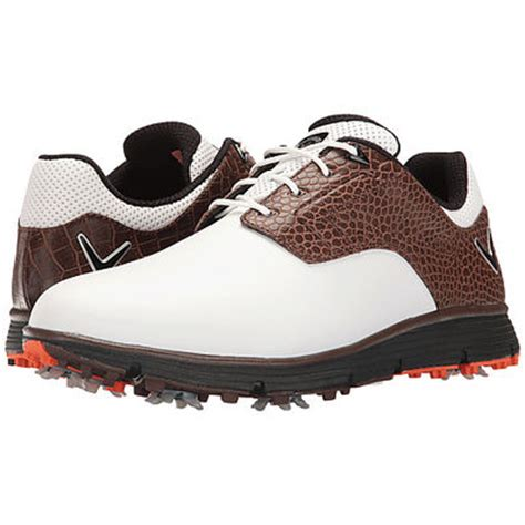 callaway la jolla golf shoes white brown discount prices