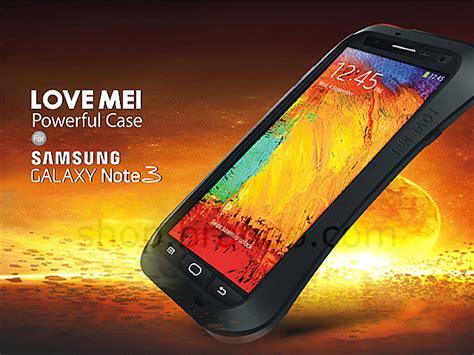 Samsung Galaxy Note 3 Powerful Casing Mei mei samsung galaxy note 3 powerful