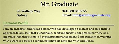 exle of personal statement for resume exles of resumes