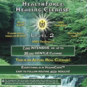 Goddess Detox Discount by Healthforce Healing Cleanses Special January Discount