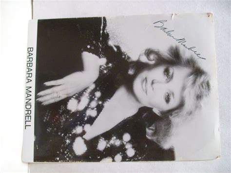 barbara mandrell sleeping single in a double bed barbara mandrell photo signed autograph sleeping single in a double bed guaranteed