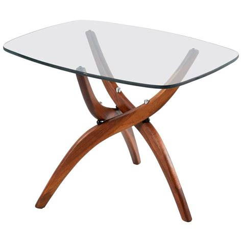 forest wilson coffee table forest wilson walnut cocktail table at 1stdibs