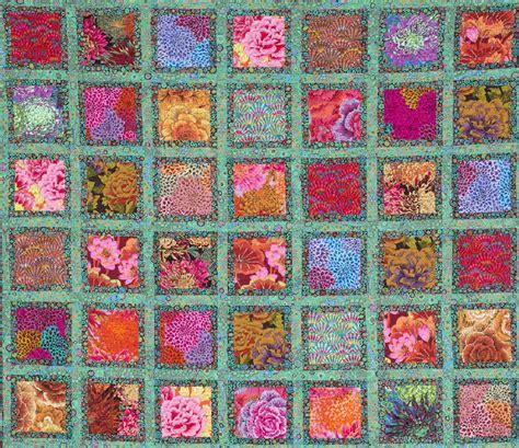 Kaffe Fassett Quilt Pattern by Free Pattern Frames Quilt By Kaffe Fassett And Liza Prior