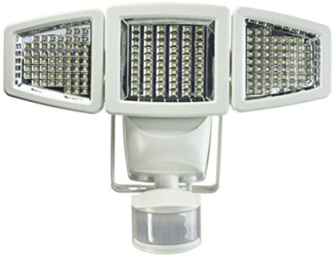 Sunforce 82183 180 Led Solar Motion Light Triple Head Sunforce Led Solar Motion Light