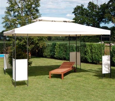 Pavillon Metall 3x4m Wasserdicht by Pavillon Metall