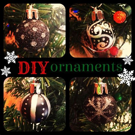 diy ornaments with a silver sharpie it s all about