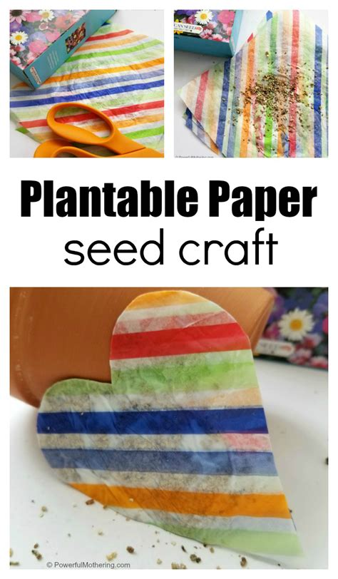 How To Make Plantable Seed Paper - the will loving plantable paper this