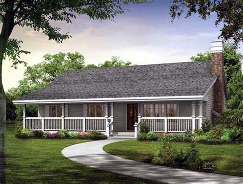 simple country home plans the most striking thing about this simple one story home is the magnificent verandah that