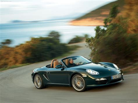 green porsche boxster 2009 porsche boxster wallpapers