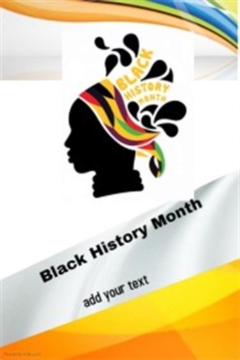 Black History Month Poster Templates Postermywall Black History Month Poster Template