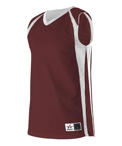 Atasan Kelelawar Jersey 7 Maroon alleson 54mmrw s reversible basketball jersey maroon white hit a
