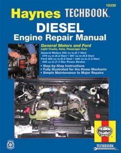 Haynes Repair Manual For Diesel Engine
