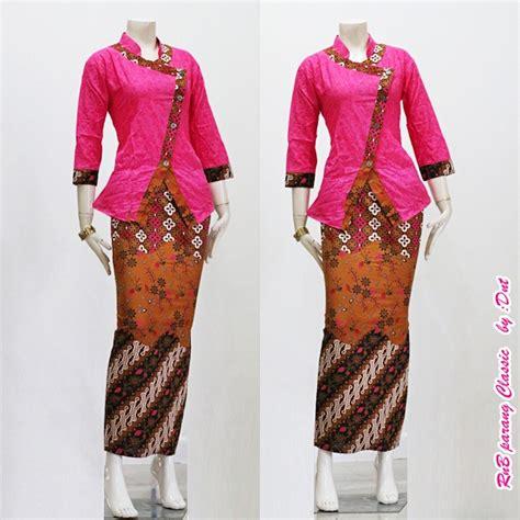 Rok Blus Batik 149 Kebaya Batik Setelan Wanita Batik Pesta jual batik wanita setelan rok n blouse batik kebaya batik parang embos anitaolshop