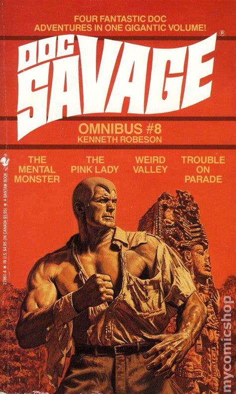 doc savage omnibus pb 1986 1990 novel comic books