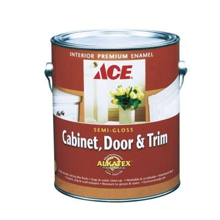 self leveling cabinet paint ace cabinet door trim semi gloss alkyd enamel paint