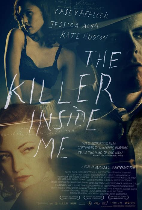 trailer and poster for the killer inside me starring casey affleck and jessica alba collider