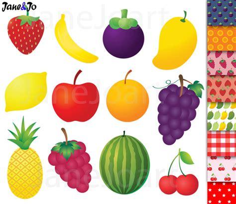 fruit clipart fruit clipart fruit clip pineapple banana orange mango