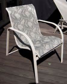 Patio Furniture Sling Fabric by Lyon Shaw Furniture Free Home Design Ideas Images