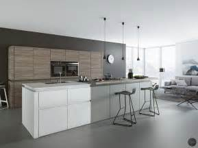 White Grey Kitchen by 30 Gorgeous Grey And White Kitchens That Get Their Mix Right