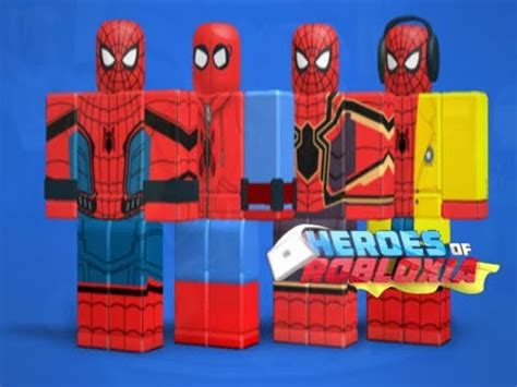 spider man joins heroes robloxiaheroes roblox