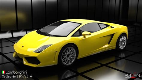 Lamborghini 3d by 3d Model Lamborghini Gallardo Lp560 4 Cgtrader
